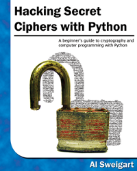 Přebal knihy Hacking Secret Ciphers with Python